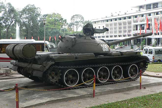 reunification palace - ho chi minh city tour half day