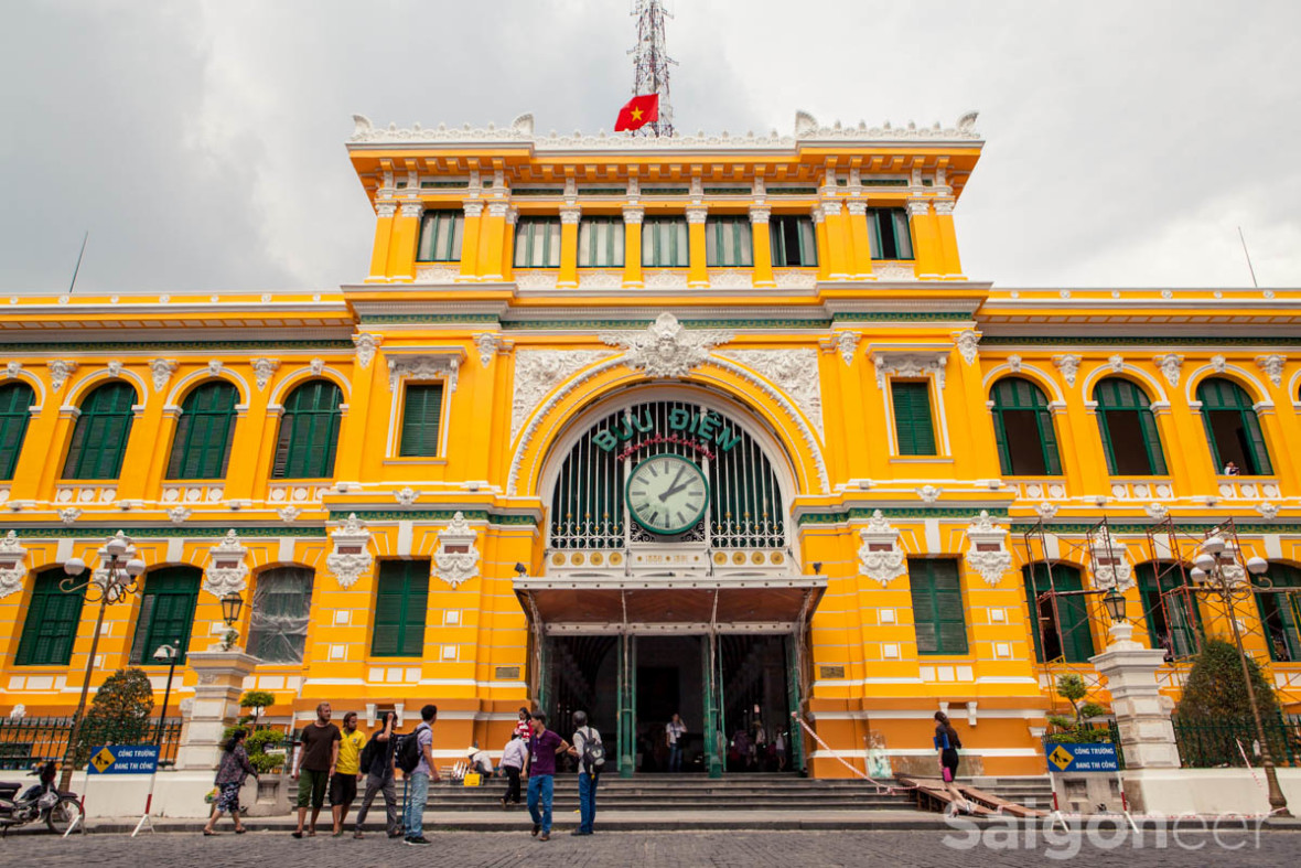 Old Post Office Ho Chi Minh
