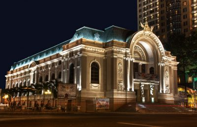Saigon Opera House in Ho Chi minh City Tour