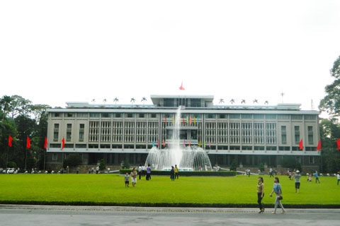 ho chi minh city Independence Palace