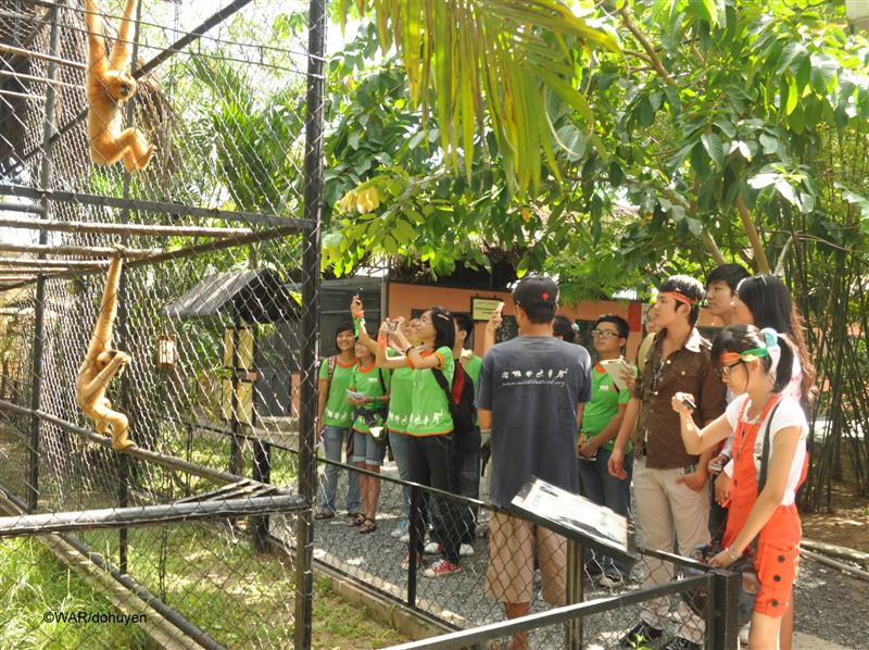 Visit Animal Rescue center chu chi tunnels